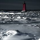 Manistique Lighthouse by Theodore Black