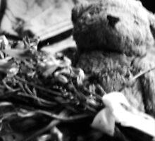 Ragged old bear by Amanda-Jayne Perry
