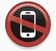 No Mobile Phones Apple / WhatsApp Emoji Kids Clothes