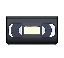 Videocassette Apple / WhatsApp Emoji by emoji