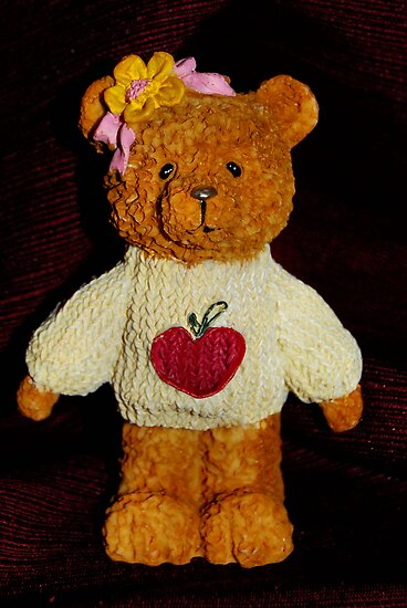 Heart Shirt Teddy Bear by HeavenOnEarth