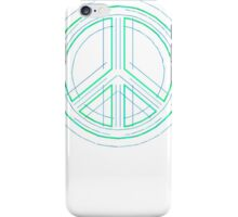 Peace Sign Symbol Abstract 1 iPhone Case/Skin