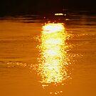 Watery Sunset by Martina Fagan