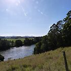 The Tweed River meanders by! Murwillumbah, N.S.W. Nth. Coast. by Rita Blom