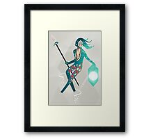 The Sea Guardian Framed Print