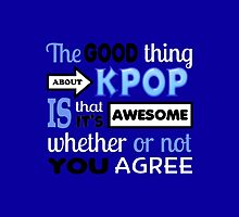 GOOD THING ABOUT KPOP - BLUE by CynthiaAd