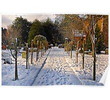Snow Scene~ Poster
