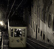 The Funicular Cable Car by damokeen