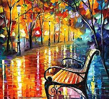 Old Thoughts 3 — Buy Now Link - www.etsy.com/listing/226750837 by Leonid  Afremov
