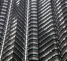 Petronas Towers Abstract by Martin How
