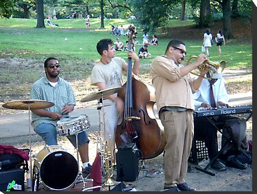 Central Park Players by tastypaper