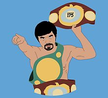 Manny Pacquiao - World Titles by liam175