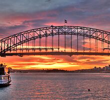 Iconic Morn - Sydney Harbour - Moods Of A City - The HDR Experience by Philip Johnson