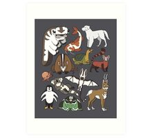 Avatar Menagerie Art Print
