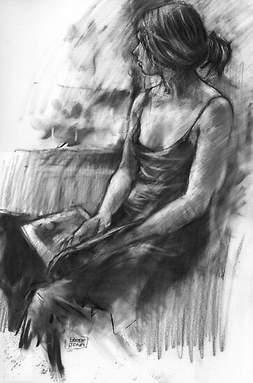 Girl reading by djones