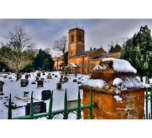 Church In Snow~ Photographic Print