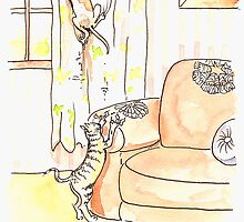 Bad Cats by Tama Blough
