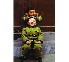 Soldiers. Photographic Print