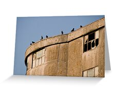 Derelict Roost Greeting Card