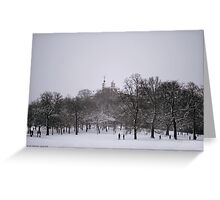 Greenwich Park & Observatory Greeting Card