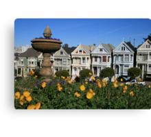 San Francisco: The Painted Ladies Canvas Print