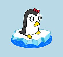 Girly Penguin by Infernoman