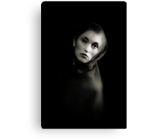 lilith cloaked Canvas Print