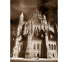 Gothic View of the  Library of Parliament Photographic Print