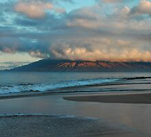 Maui Dawn Cloudscape by Stephen Vecchiotti