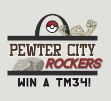 Pewter City Rockers! - Pokémon Print by riotshieldtom