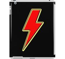 Lightning bolt in red iPad Case/Skin