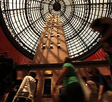 Shot Tower Shoppers by Andrew Willesee