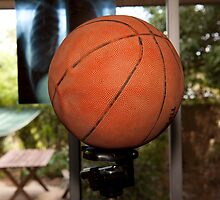 Basketball on Tripod :) by Steven Pearce