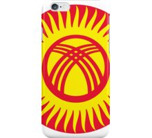 Kyrgyzstan Air Force - Roundel iPhone Case/Skin