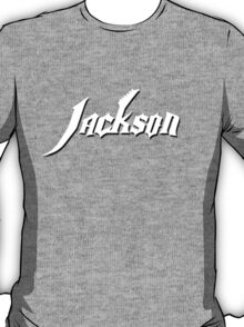 White Jackson Guitars  T-Shirt