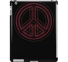 Peace Sign Symbol Abstract 3 iPad Case/Skin