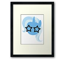 My Little Pony - Trixie Stars Framed Print