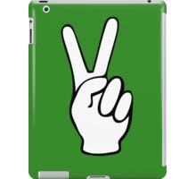Hand Peace Sign Fingers iPad Case/Skin