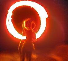 firetwirling # 2 by Sam Fonte