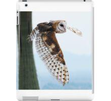 Barn Owl Rising iPad Case/Skin