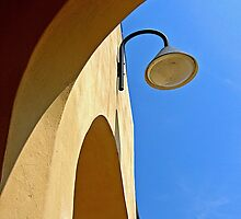 The lamp by Barbara  Corvino