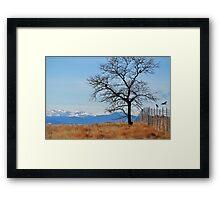 Crow's Tree Framed Print