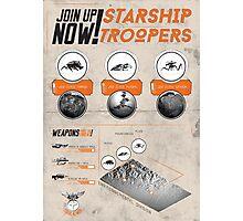 Starship Troopers : Print Art Photographic Print