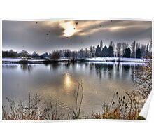 Winter Lake~ Poster
