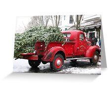 Chevy Pickup Truck  Greeting Card