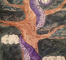 The Octopus and the Oak Tree  by theLadyofShalot