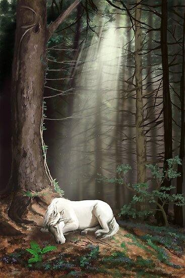 Dreaming in the Forest by Lee Anne Kortus