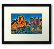 Cathedral Rock Splendour Framed Print