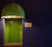 Green Door by Mitchell Tillison