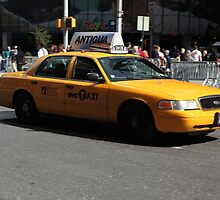New York Yellow Taxi Cab by northernsecret